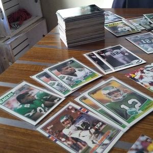 Vintage Philadelphia Eagles 175 Card LOT